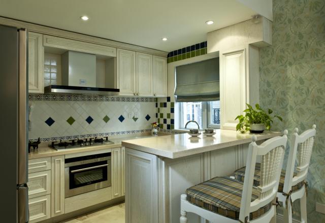 欧式 别墅 厨房图片来自天津尚层装修韩政在金地紫乐府法式风格设计的分享