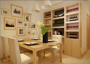 宜家 两居 温馨 现代 餐厅图片来自实创装饰小敏在87平温馨宜家风格小两居的分享