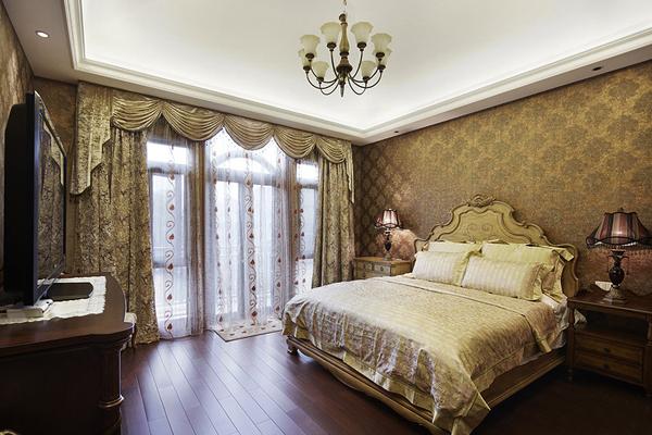 美式 别墅 超凡装饰 卧室图片来自沪上名家装饰在金沙湖美式婚房的分享