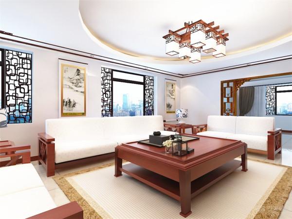 本户型为海河大观一期高层标准层3室户型3室4厅4卫 330.00㎡.本方案主要以新中式风格为设计手法,中国传统的室内设计融合了庄重与优雅双重与优雅双重气质。
