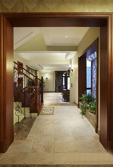 美式 别墅 超凡装饰 玄关图片来自沪上名家装饰在金沙湖美式婚房的分享