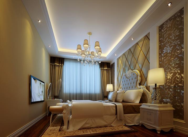 别墅 欧式 简欧 卧室图片来自实创装饰集团广州公司在碧桂园别墅的分享