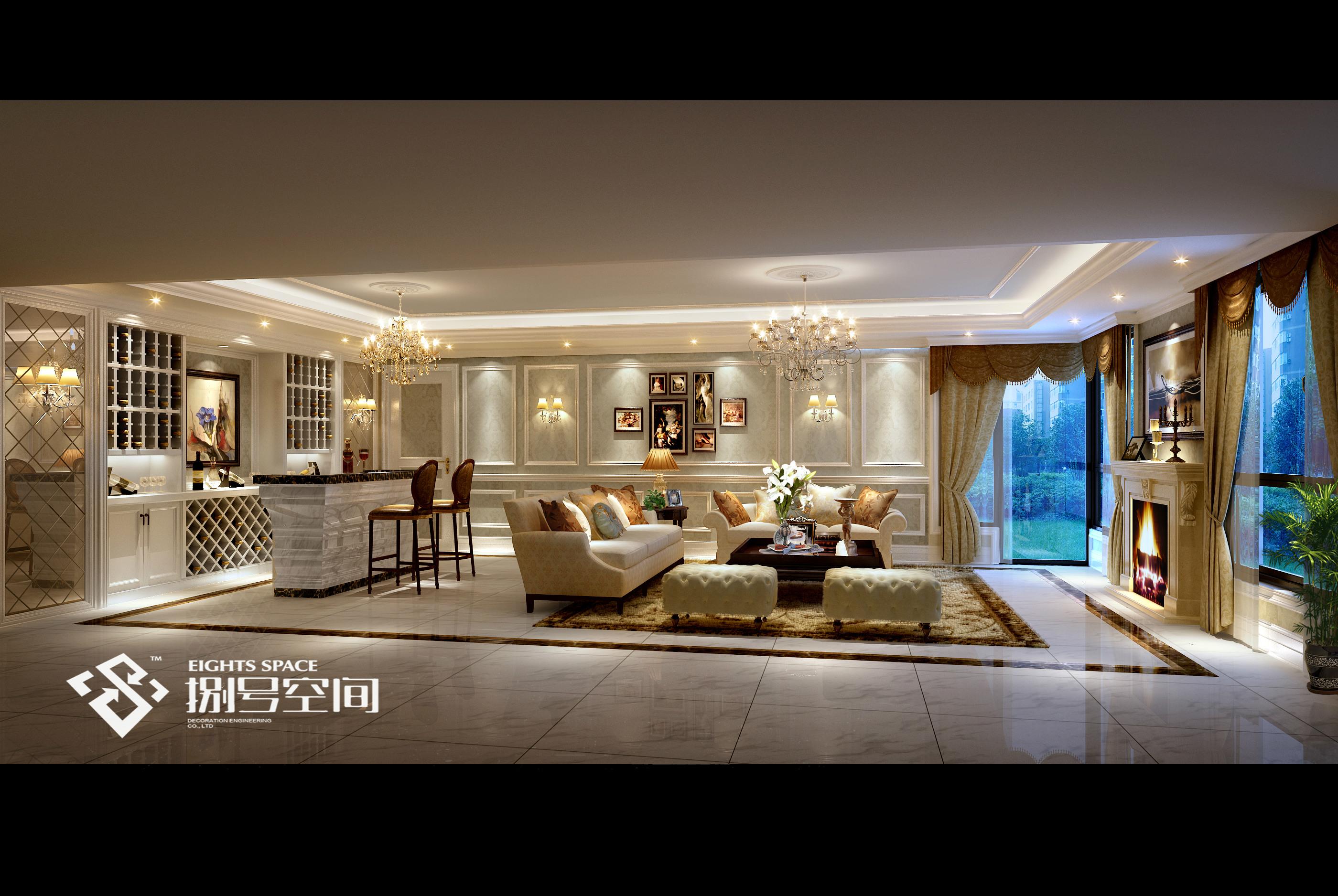 别墅 客厅图片来自8号空间老杨在奢华·任性的分享