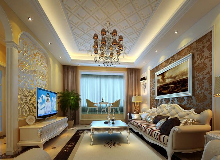 别墅 欧式 简欧 客厅图片来自实创装饰集团广州公司在碧桂园别墅的分享