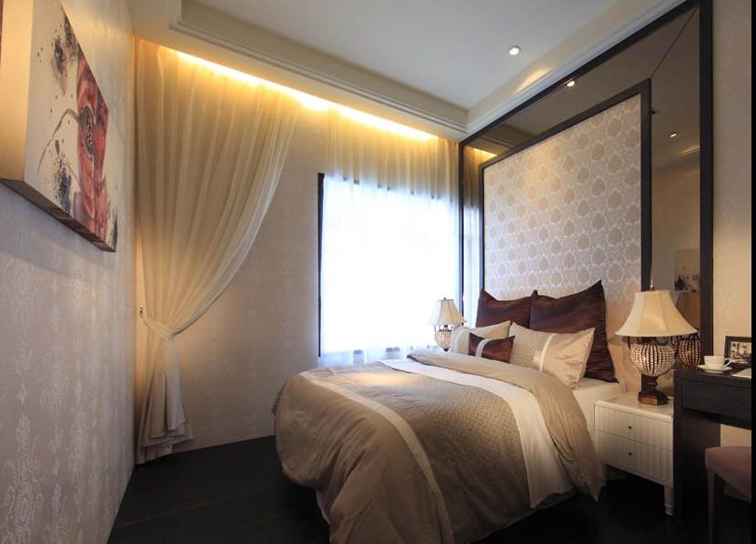 卧室图片来自文金春在鑫苑世纪东城简约大方设计案例的分享