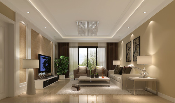 空间以线条简洁的家具和装饰为主,重视室内空间的使用功能。主张废弃多余 繁琐的附加装饰,在色彩上和造型上追随流行时尚