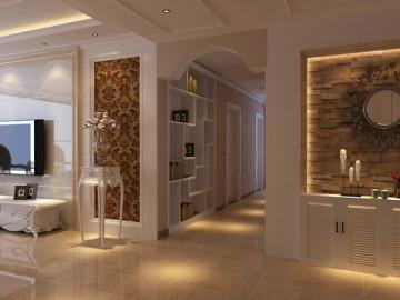 绿城百合180平四室两厅装修案例