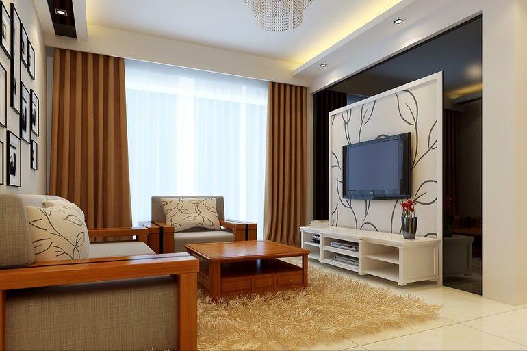 简约 二居 客厅图片来自北京亚光亚装饰厚宅旗舰店在中铁国际花园75的分享