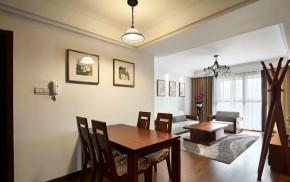 简约 美式 小清新 田园 餐厅图片来自佰辰生活装饰在美式小清新打造不一样的小居室的分享