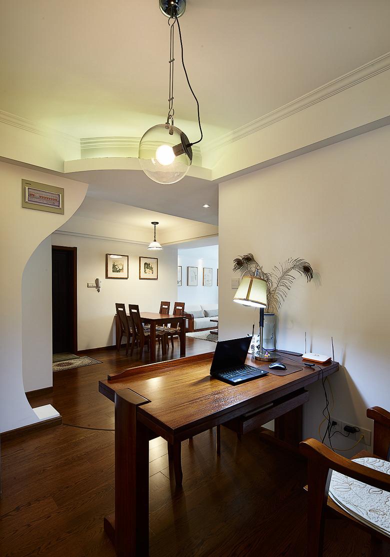 新古典 三居 白领 收纳 旧房改造 80后 小资 书房图片来自名仕装饰-小飞在节奏快速的人,宁静悠远的港湾的分享