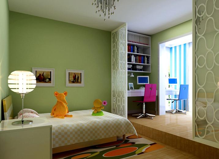 三居 二居 番禹装修 怡居新村 卧室图片来自实创装饰集团广州公司在怡居新村的分享