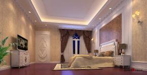 欧式 别墅 简欧风格 高富帅 豪华装修 万科城别墅 豪宅设计 卧室图片来自名雕装饰设计在万科城御水湾简欧别墅的分享