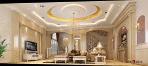 欧式 别墅 简欧风格 高富帅 豪华装修 万科城别墅 豪宅设计 客厅设计 客厅 客厅图片来自名雕装饰设计在万科城御水湾简欧别墅的分享