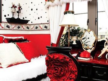 【以浪漫的红玫瑰为名的华丽家】