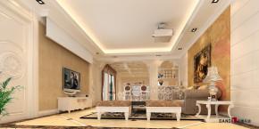 欧式 别墅 简欧风格 高富帅 豪华装修 万科城别墅 豪宅设计 客厅图片来自名雕装饰设计在万科城御水湾简欧别墅的分享