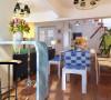 餐厅要让主人体验到犹如在爱琴海岸的美丽小岛上吹着海风享用美食的惬意。犹如置身在圣托里尼小镇度假一般轻松享受,整体空间清新淡雅,惬意无限