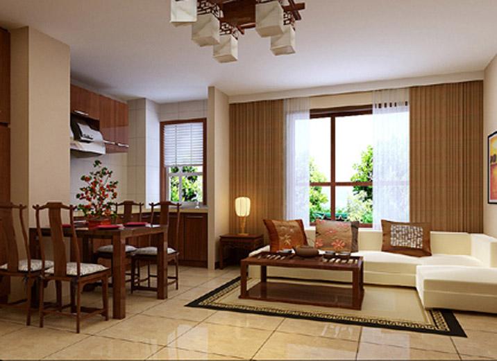 三居 二居 番禹装修 怡居新村 客厅图片来自实创装饰集团广州公司在怡居新村的分享