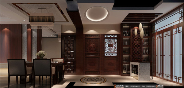 中铁瑞景城餐厅细节效果图-成都高度国际装饰