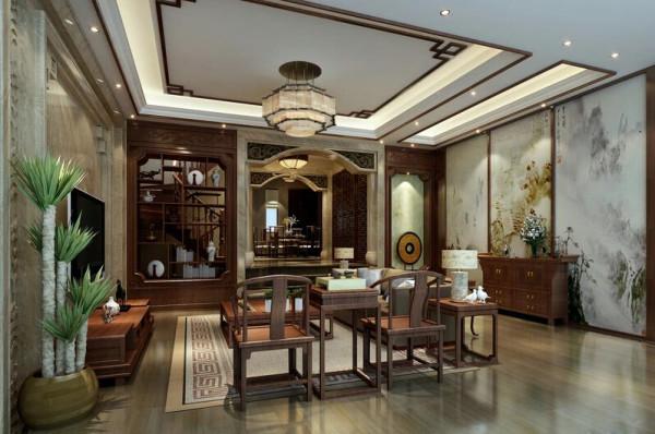 本案中的轻古典摒弃了现代风格完全简约的呆板与单调,在空间设计材料、色彩运用家具装饰品陈设上对中国文化的再创造使之融入空间,古色古香简约时尚,没有喧嚣与繁冗,一派宁静悠远。