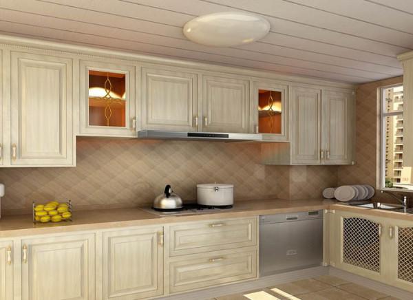 厨房:设计理念:美丽的厨房自然会让烹饪的人心情舒畅。亮点:整体性,实用大气的组合橱柜是设计的重中之重。