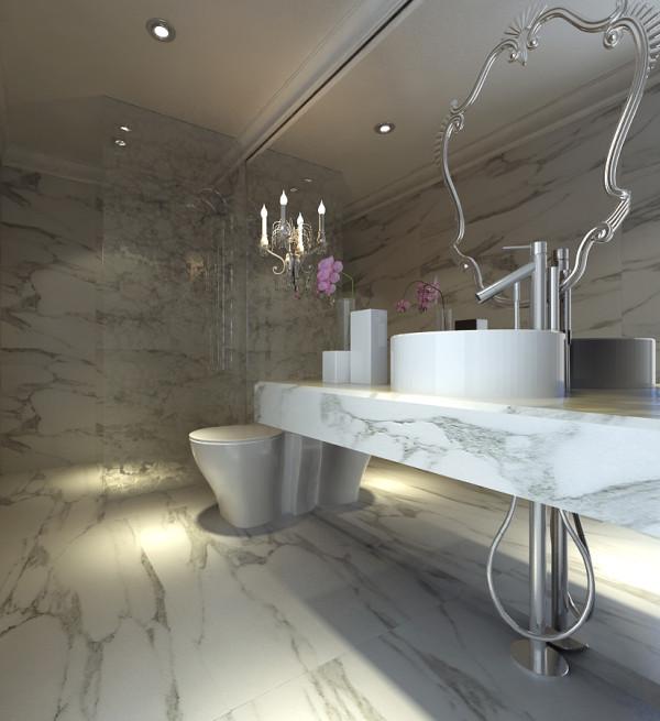 浴室也有整洁的环境,宽敞明亮,色调干净!!   沈阳新饰家装饰公司承办!!