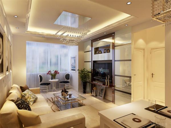 本案是卓越浅水湾三室两厅一厨一卫123㎡,设计风格为简约风格