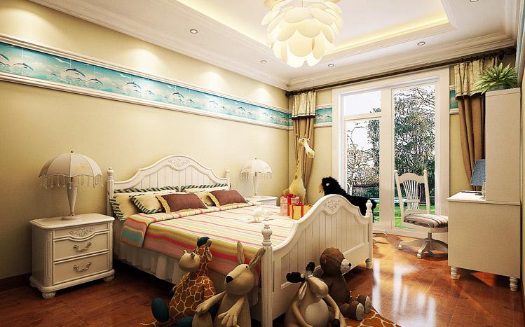 儿童房图片来自长沙实创装饰范范在细腻的欧风豪宅的分享