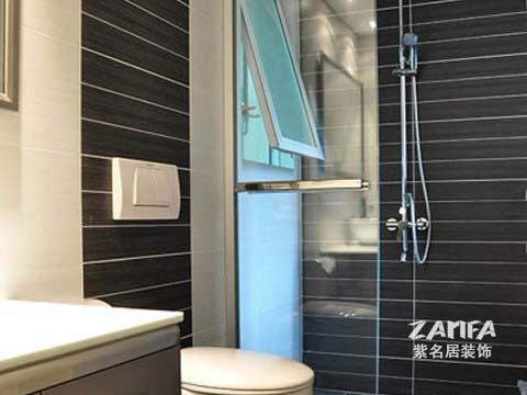 简约 二居 白领 收纳 80后 小资 卫生间图片来自紫名居装饰在陶然经典两居室现代简约的分享
