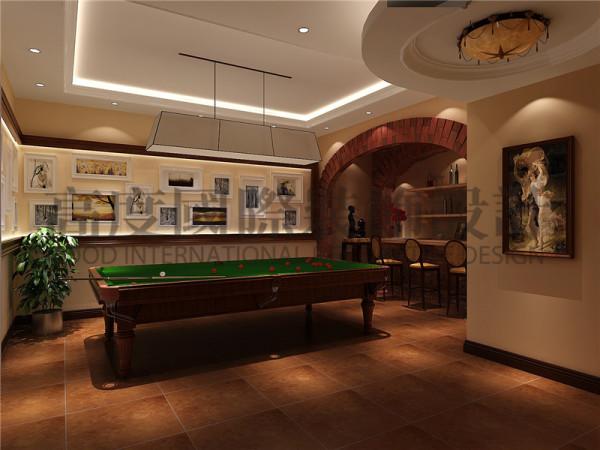 成都高度国际装饰设计-台球室