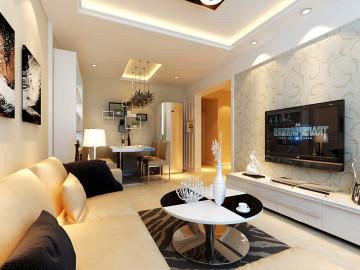 现代两居室