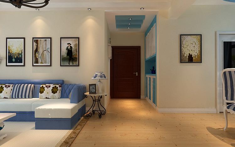 简约 地中海 蓝色 三居 80后 玄关图片来自长沙实创装饰范范在简约而不简单的幸福家的分享