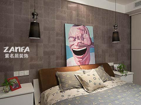 简约 二居 白领 收纳 80后 小资 卧室图片来自紫名居装饰在陶然经典两居室现代简约的分享