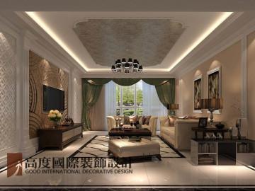 润泽公馆168㎡新中式风格