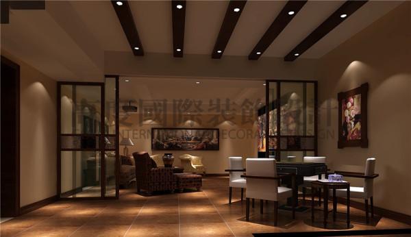 成都高度国际装饰设计-视听室