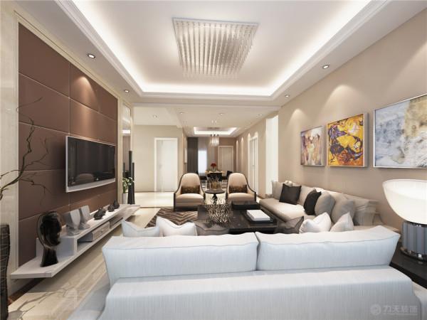 本案是奕聪花园两室两厅两卫一厨170㎡的户型,设计风格为现代简约。