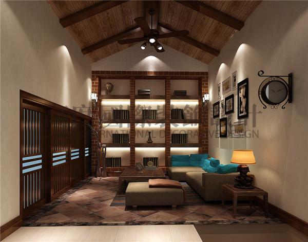 成都高度国际装饰设计-休闲区