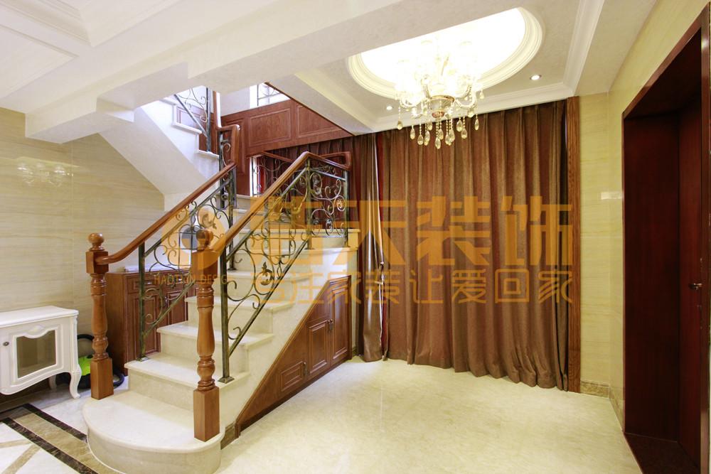 楼梯图片来自深圳市浩天装饰在熙和园刘先生的分享