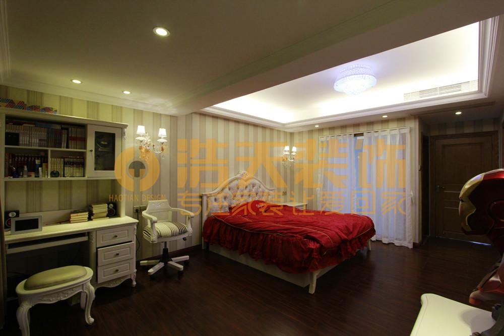 卧室图片来自深圳市浩天装饰在熙和园刘先生的分享