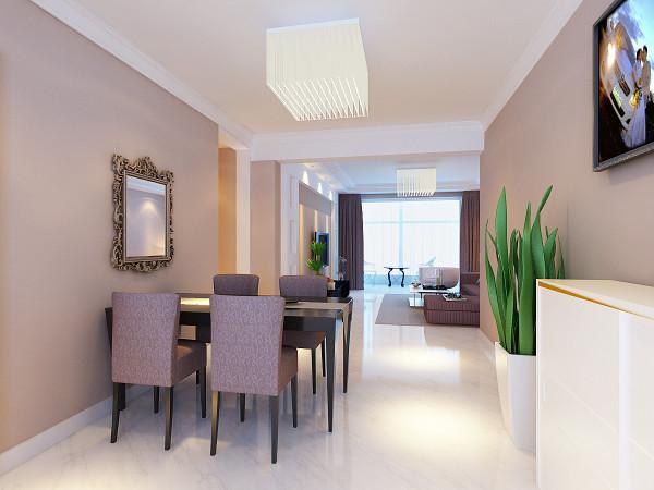 本案是华亭丽园三室两厅两卫一厨的户型,设计风格为现代简约。