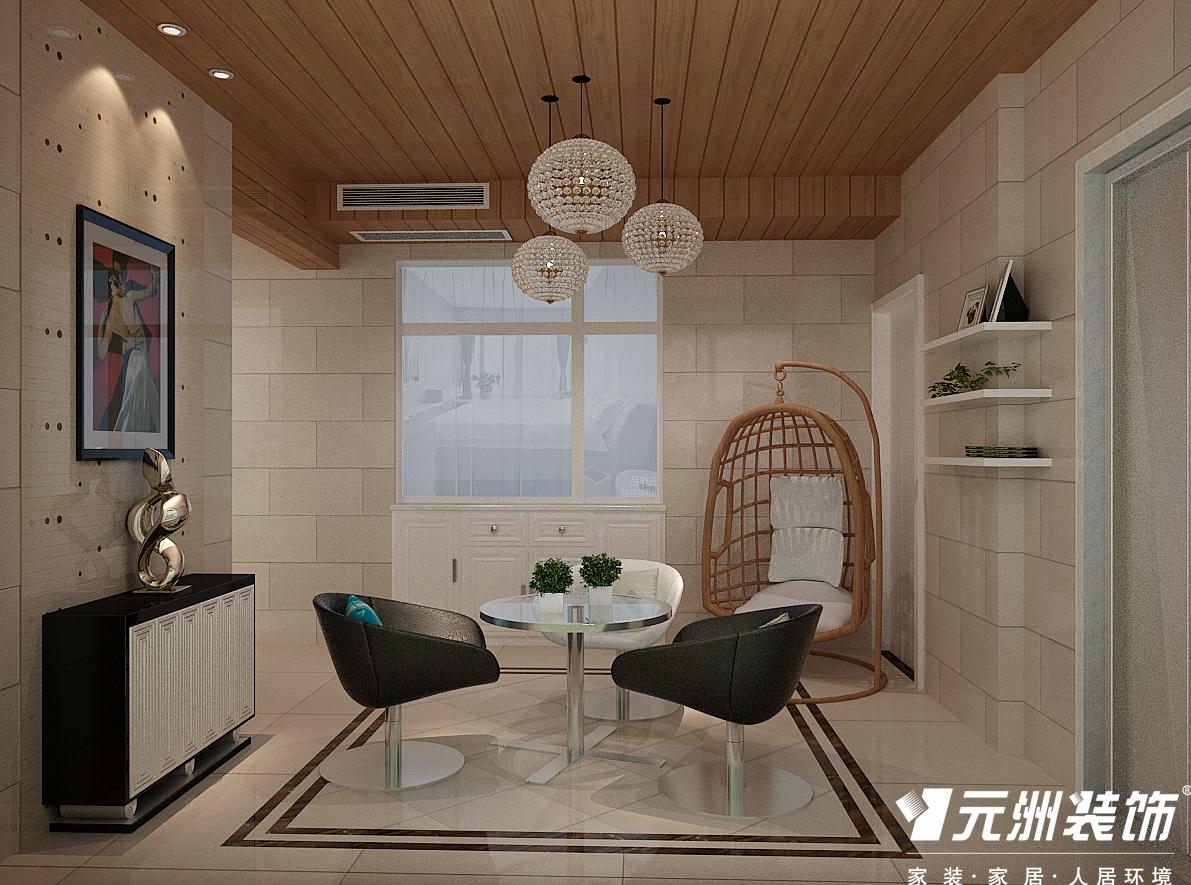 现代简约 200国仕山 四居室现代 欧式 80后 阳台图片来自石家庄-小程在国仕山200平现代简约风格效果图的分享