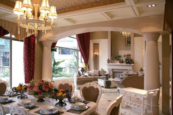 在配饰上,使用白色、金色、黄色、暗红等色调。本风格较适宜居室面积在100平米左右及以上的大的居室空间,多适宜有一定经济基础,年龄在25-35之间年轻时尚的公司白领。