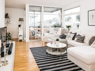 40平公寓最爱玻璃小阳台