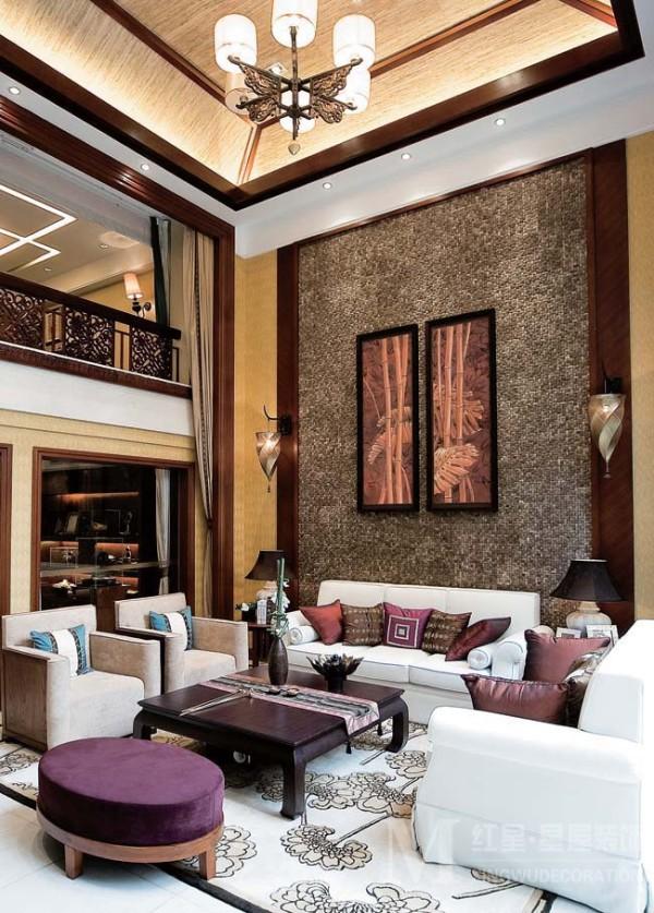 金林半岛别墅混搭风格装修设计方案