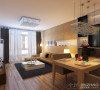 85平米富力阳光家园-现代风格