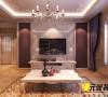 紫晶悦城两室简欧风格效果图