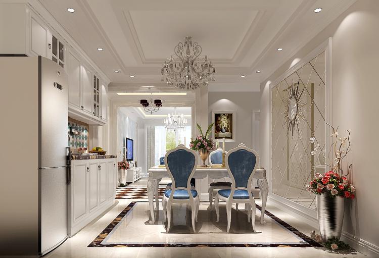 现代风格 三居 80后 餐厅图片来自高度国际宋书培在江南山水三居室装饰效果图的分享