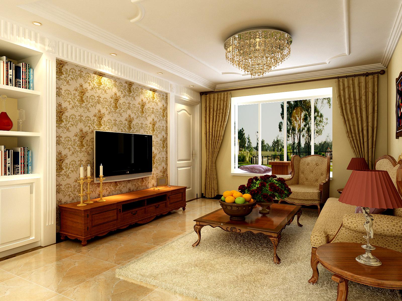 三居 欧式 简约欧式 80后 婚房 客厅图片来自实创装饰都琳在80后大爱简欧风格的分享