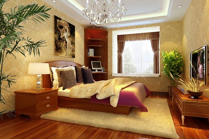 混搭 简约 卧室图片来自今朝装饰李海丹在银领国际的分享