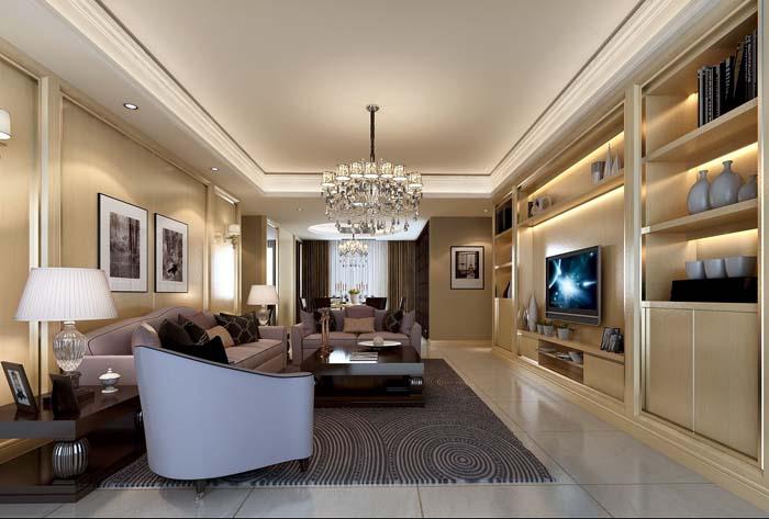 简约 港式 现代 复地雍湖湾 客厅图片来自成都业之峰装饰公司在复地雍湖湾新港式的分享