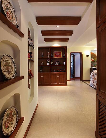 客厅图片来自家装大管家在132平地中海3居 缔造不一样生活的分享